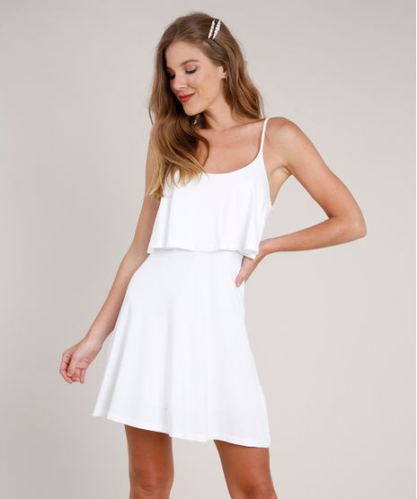 Vestido-Feminino-Curto-Evase-com-Sobreposicao-Alca-Fina-Off-White-9863213-Off_White_1
