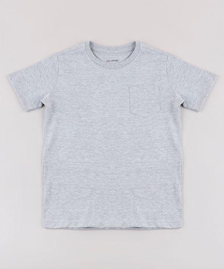 Camisa-Infantil-Basica-com-Bolso-Manga-Curta-Cinza-Mescla-9567186-Cinza_Mescla_1