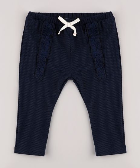 Calca-Legging-Infantil-Texturizada-com-Babado-Azul-Marinho-9820572-Azul_Marinho_1