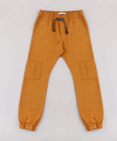 Calca-de-Sarja-Infantil-Jogger-Cargo-Caramelo-9767892-Caramelo_1