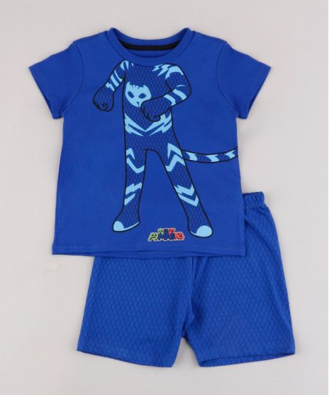 Pijama-Infantil-PJ-Masks-Menino-Gato-Manga-Curta-Azul-9762474-Azul_1