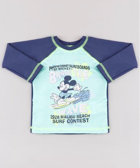 Camiseta-de-Praia-Infantil-Mickey-Surfista-Raglan-Manga-Longa-Azul-Marinho-9772665-Azul_Marinho_1
