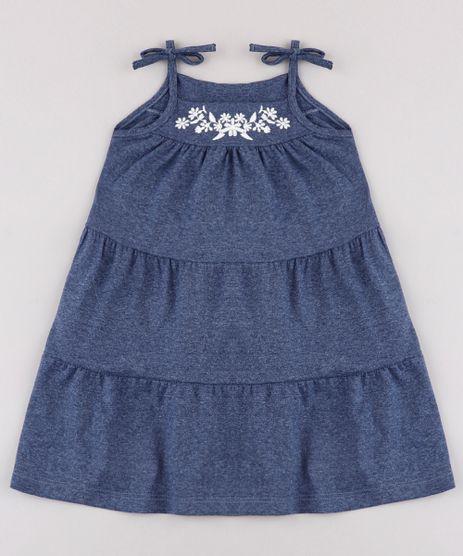 Vestido-Infantil-com-Recorte-e-Bordado-Floral-Alca-Fina-Azul-9678253-Azul_1