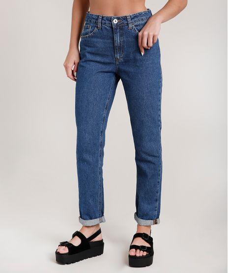 Calca-Jeans-Feminina-Mom-Cintura-Super-Alta-Azul-Escuro-9204361-Azul_Escuro_1