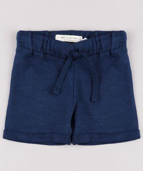 Bermuda-Infantil-em-Moletom-Basico-com-Cordao-Azul-Marinho-9671653-Azul_Marinho_1