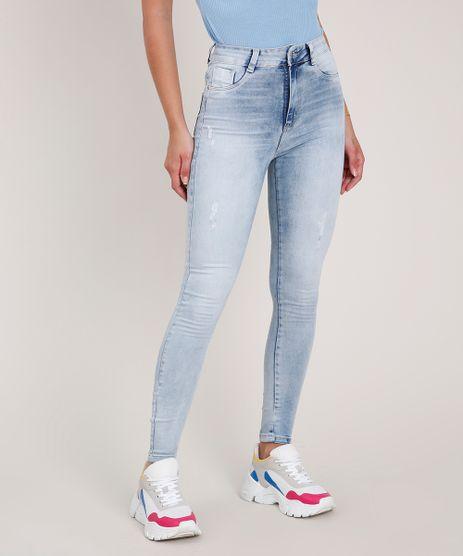 Calca-Jeans-Feminina-Sawary-Cigarrete-Push-Up-Cintura-Alta-Azul-Claro-9855742-Azul_Claro_1