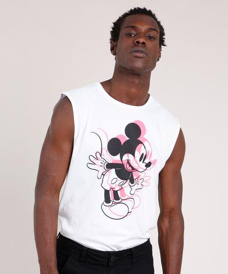 Regata-Masculina-Mickey-Neon-Gola-Careca-Branca-9771294-Branco_1