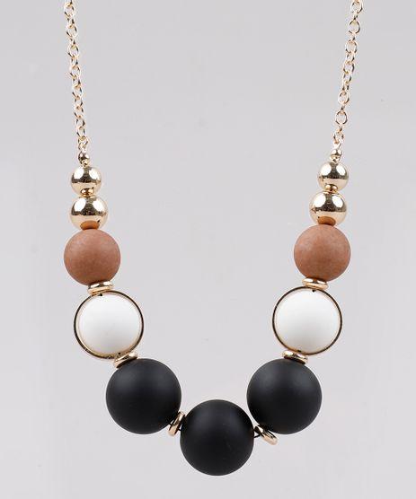 Colar-Feminino-com-Esferas-Dourado-9761516-Dourado_1