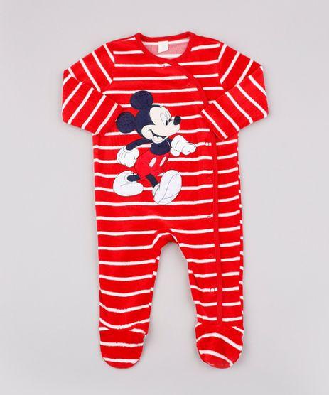 Macacao-Infantil-em-Plush-Mickey-Listrado-Manga-Longa-Vermelho-9590223-Vermelho_1