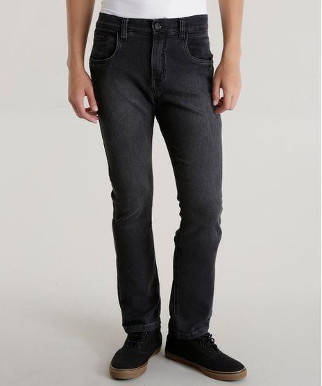 Calca-Jeans-Slim-em-Moletom-Preta-8592324-Preto_1