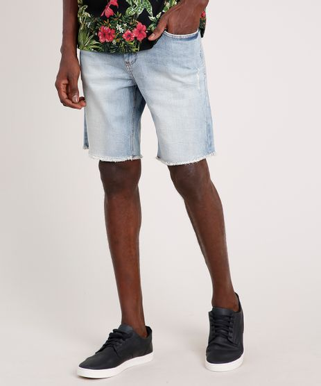 Bermuda-Jeans-Masculina-Blueman-com-Barra-Desfiada-Azul-Claro-9765111-Azul_Claro_1