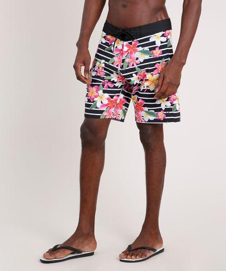 Bermuda-Surf-Masculina-Triya-Listrada-Floral-Preta-9752103-Preto_1