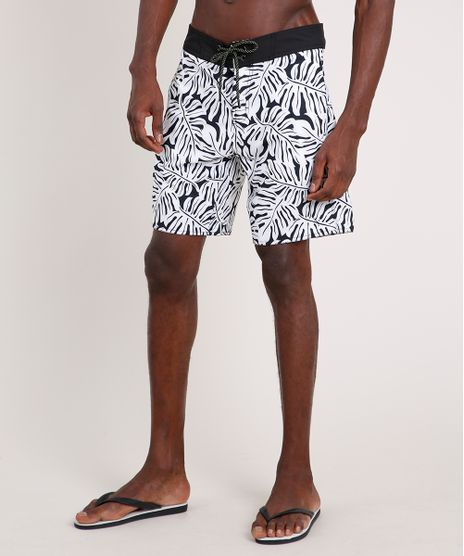 Bermuda-Surf-Masculina-Triya-Estampada-de-Folhagem-Branca-9702373-Branco_1