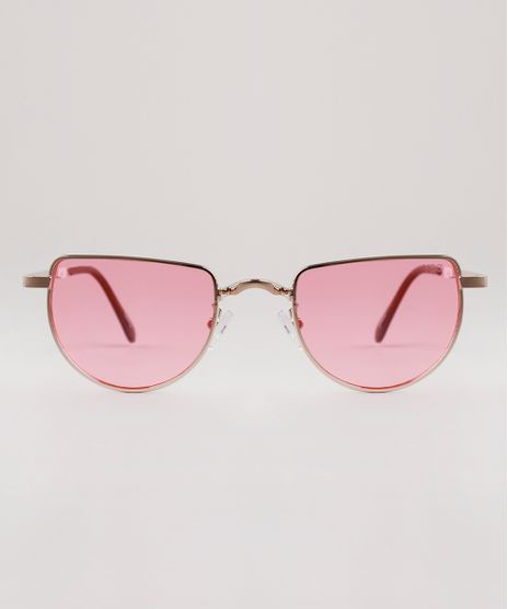 Oculos-de-Sol-Redondo-Feminino-Yessica-Dourado-9893159-Dourado_1