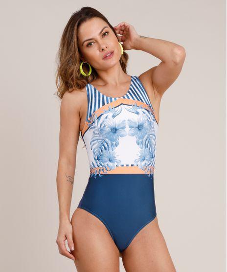 Maio-Body-Cavado-com-Flores-e-Listras-Sem-Bojo-Protecao-UV50--Azul-Marinho-9881071-Azul_Marinho_1
