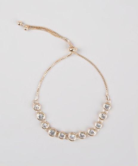 Pulseira-Feminina-com-Pedras--Dourado-9761517-Dourado_1