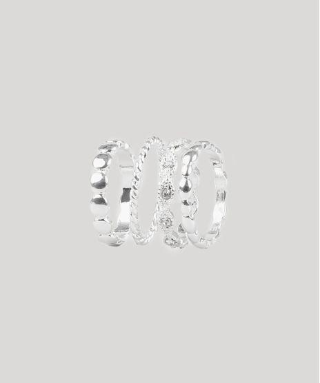 Kit-de-4-Aneis-Femininos-Texturizados-Prateado-9761512-Prateado_1