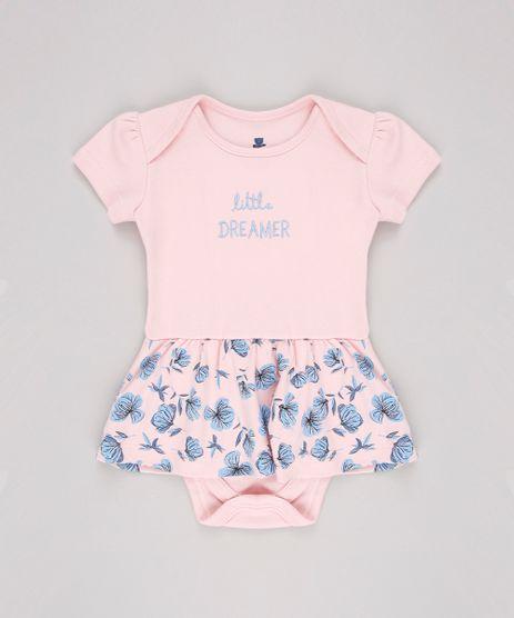 Body-Saia-Infantil--Little-Dreamer--Floral-Manga-Curta-Rosa-Claro-9820568-Rosa_Claro_1