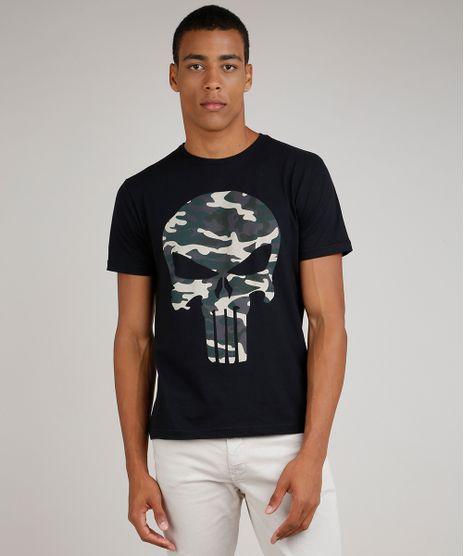 Camiseta-Masculina-O-Justiceiro-Manga-Curta-Gola-Careca-Preto-9824371-Preto_1