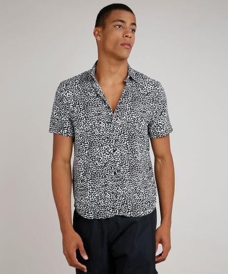 Camisa-Masculina-Tradicional-Estampada-Animal-Print-Onca-Manga-Curta-Branca-9854620-Branco_1