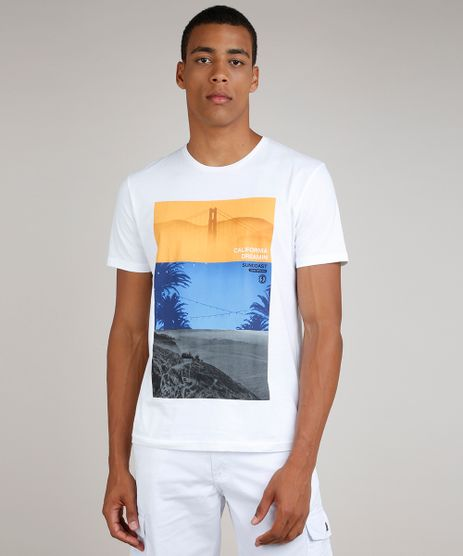 Camiseta-Masculina-California-Manga-Curta-Gola-Careca-Branca-9593789-Branco_1