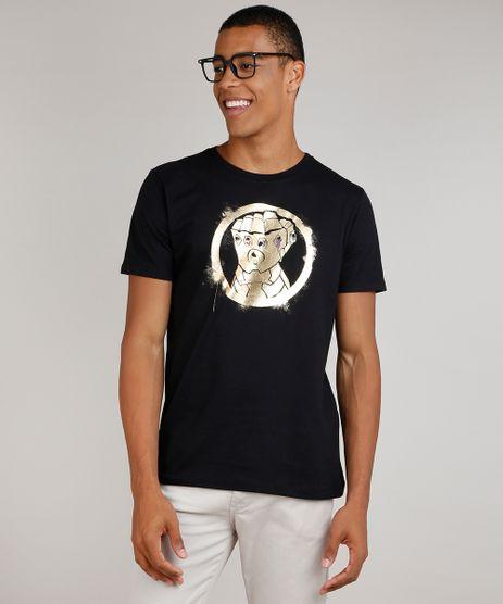 Camiseta-Masculina-Os-Vingadores-Manopla-do-Infinito-Manga-Curta-Gola-Careca-Preto-9834814-Preto_1