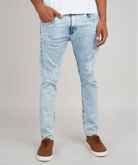 Calca-Jeans-Masculina-Carrot-Destroyed--Azul-Claro-9778468-Azul_Claro_1