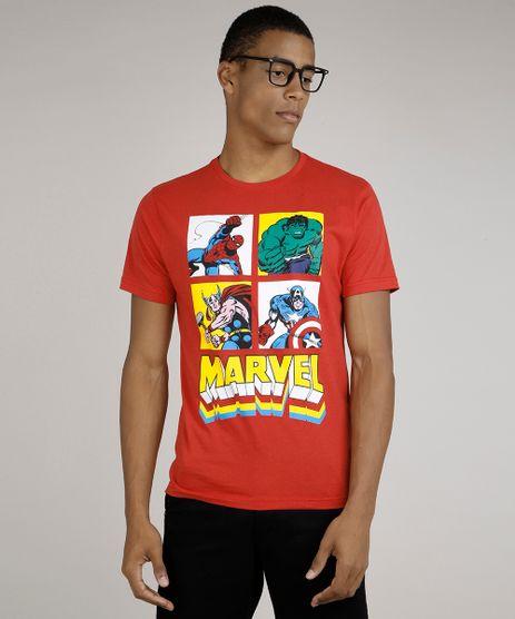 Camiseta-Masculina-Os-Vingadores-Manga-Curta-Vermelho-9800801-Vermelho_1