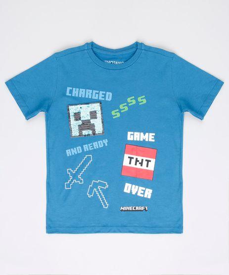 Camiseta-Infantil-Creeper-Minecraft-com-Paete-Dupla-Face-Manga-Curta-Azul-Petroleo-9668629-Azul_Petroleo_1