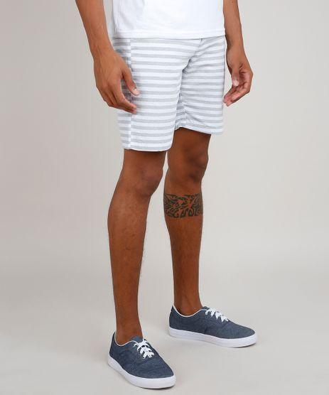 Bermuda-Masculina-Listrada-com-Bolsos-Branca-9759692-Branco_1