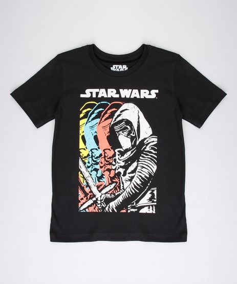 Camiseta-Infantil-Kylo-Ren-Star-Wars-Manga-Curta-Preta-9779646-Preto_1