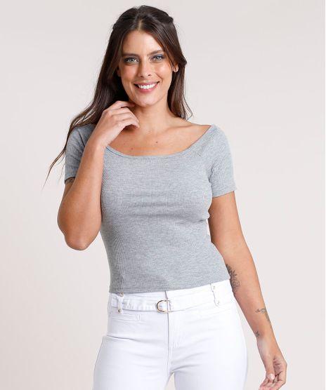 Blusa-Feminina-Basica-Ombro-a-Ombro-Canelada-Cinza-Mescla-9267958-Cinza_Mescla_1