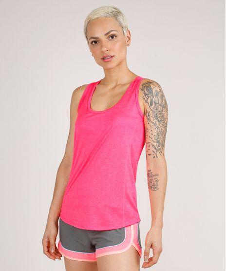 Regata-Feminina-Esportiva-Ace-Basica-Mescla-Decote-Nadador-Rosa-Neon-9706880-Rosa_Neon_1