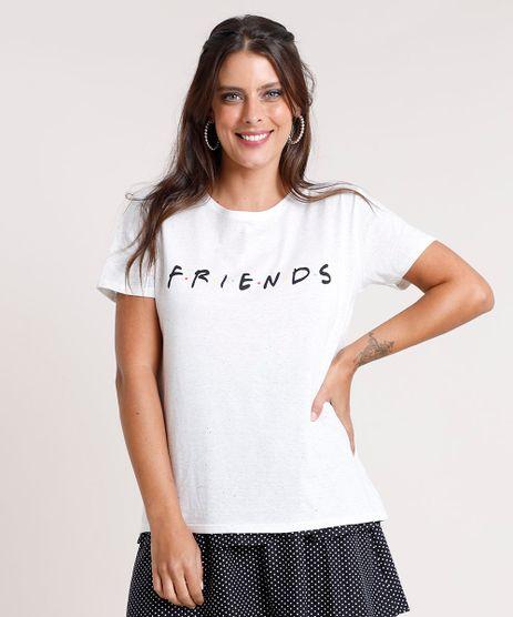 Blusa-Feminina-Friends-Botone-Manga-Curta-Decote-Redondo-Off-White-9801371-Off_White_1
