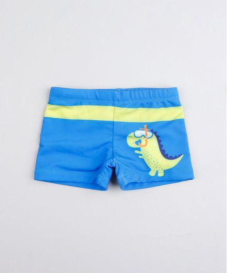 Sunga-Infantil-Boxer-Dinossauro-com-Protecao-UV50--Azul-9519061-Azul_1