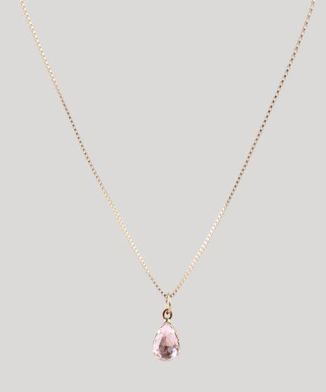 Colar-Feminino-Folheado-Troca-Pingentes-de-Pedra-Zirconia--Dourado-9852132-Dourado_1