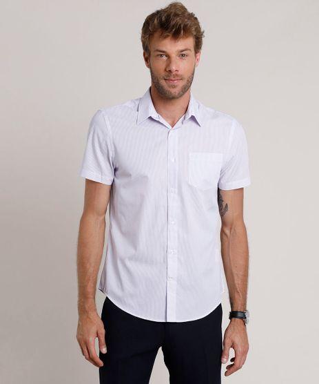 Camisa-Social-Masculina-Comfort-Listrada-com-Bolso-Manga-Curta-Lilas-9508845-Lilas_1