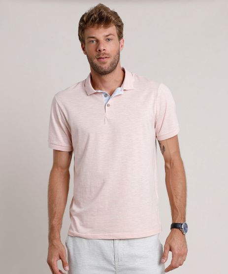Polo-Masculina-Comfort-Fit-Flame-Manga-Curta-Rose-9824123-Rose_1