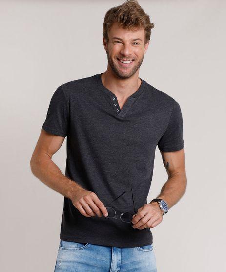 Camiseta-Masculina-Basica-Manga-Curta-Gola-Portuguesa-Cinza-Mescla-Escuro-9717069-Cinza_Mescla_Escuro_1