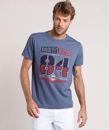 Camiseta-Masculina-Corvette-Manga-Curta-Gola-Careca-Azul-9832872-Azul_1