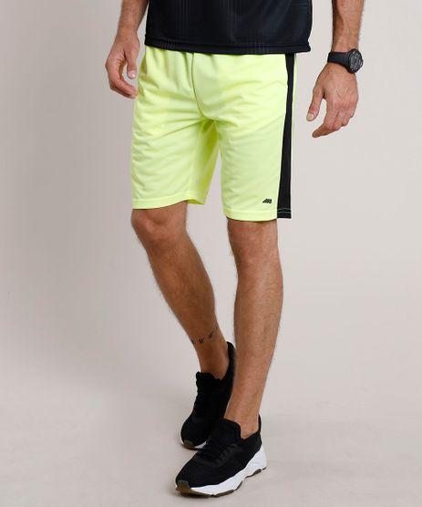 Bermuda-Masculina-Esportiva-Ace-com-Recorte-Amarelo-Neon-9736163-Amarelo_Neon_1