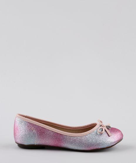 Sapatilha-Infantil-Molekinha-Bico-Redondo-com-Glitter-e-Laco-Rosa-9668060-Rosa_1