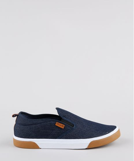 Tenis-Jeans-Slip-On-Masculino-Ollie-Azul-Escuro-9898037-Azul_Escuro_1