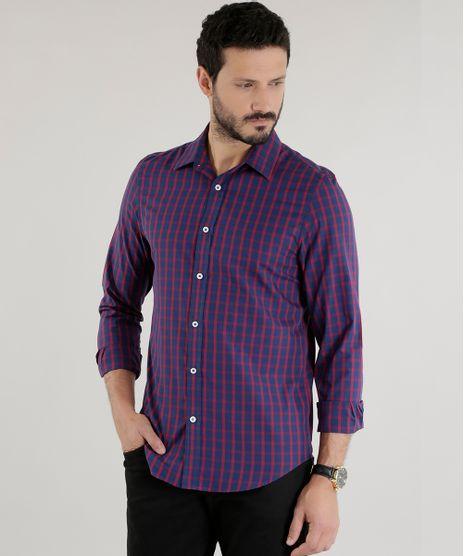 Camisa-Slim-Xadrez-Azul-Marinho-8460819-Azul_Marinho_1