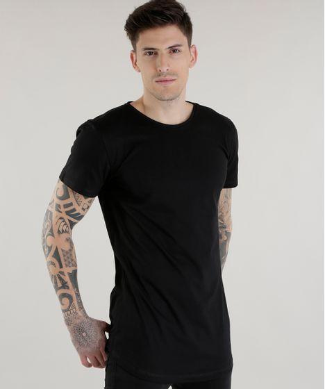 83cc396a3359c Camiseta-Longa-Preta-8578517-Preto 1 ...