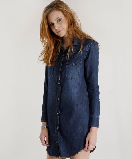 Vestido-Chemise-Jeans-Azul-Escuro-8506415-Azul_Escuro_1