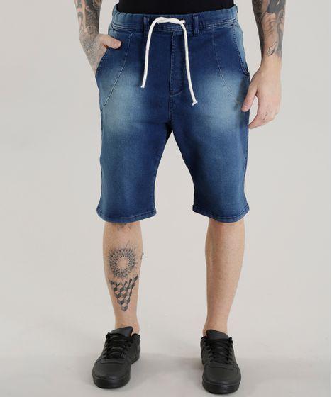 b02dd6e97 Bermuda-Jeans-em-Moletom-Relaxed-Azul-Escuro-8440258- ...