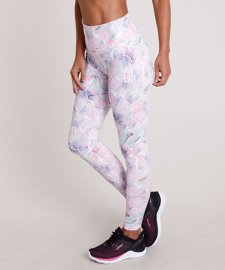 Calca-Legging-Feminina-Esportiva-Ace-Estampada-Floral-com-Protecao-UV50--Branca-9706500-Branco_1