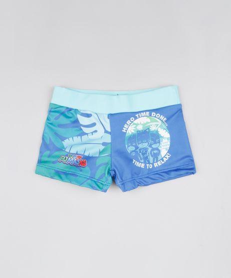 Sunga-Infantil-PJ-Masks-com-Protecao-UV50--Verde-Agua-9804535-Verde_Agua_1