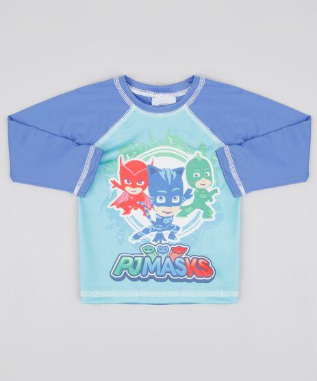 Camiseta-de-Praia-Infantil-Raglan-PJ-Masks-Manga-Longa-Protecao-UV50--Azul-9804533-Azul_1